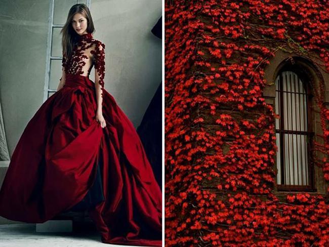 Marchesa / 2012 & Kırmızı Yapraklar
