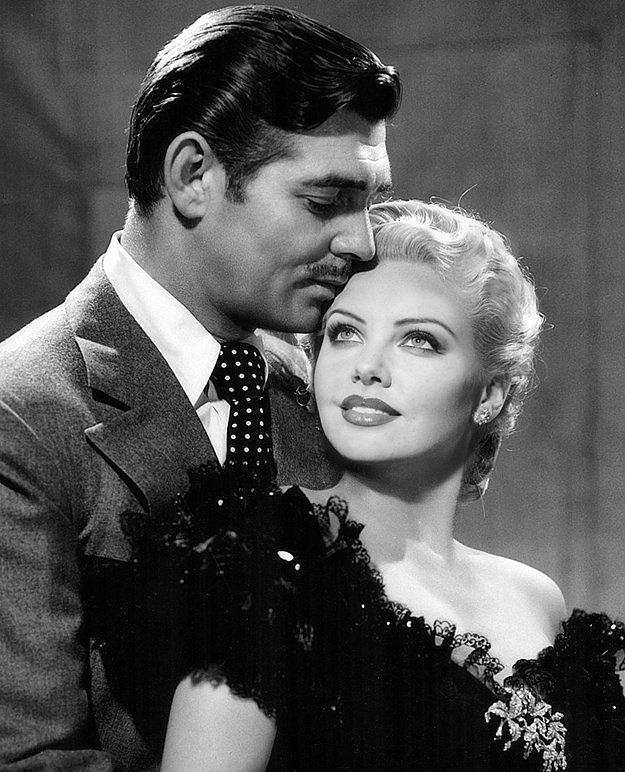 9. Clark Gable ve Charlize Theron