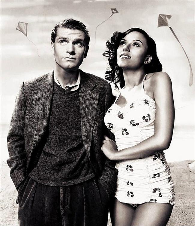 13. Laurence Olivier ve Scarlett Johansson