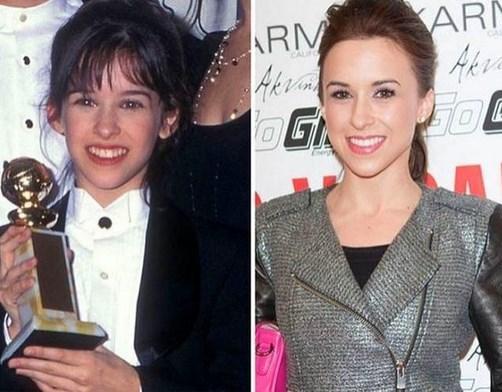 19. Lacey Chabert 1996 ve şimdiki hali