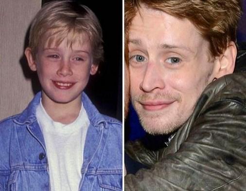 10. Macaulay Culkin 1991 ve şimdiki hali