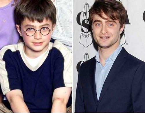 5. Daniel Radcliffe 2000 ve şimdiki hali