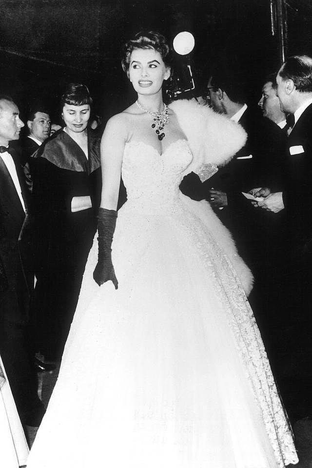 1-Sophia Loren /1955