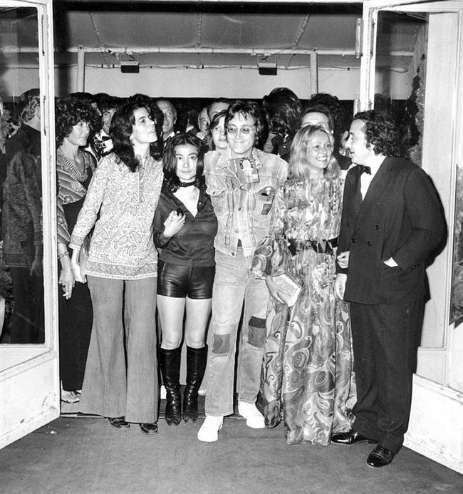 6-Yoko Ono ve John Lennon /1977