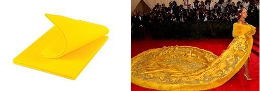 7.  Mutfaklarımızın olmazsa olmazı sarı bez