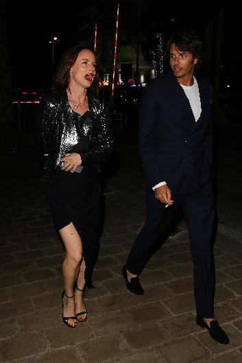 Oyuncu ve müzisyen Juliette Lewis, İtalyan sevgilisi Niccolo Oddi ile görüntülendi.