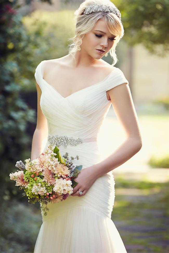 Balık, kabarık, bohem, seksi ve birçok modeli kapsayan natürel ve zarif bir duruş sergileyen romantik gelinlik modellerinden ilham alabilirsiniz.