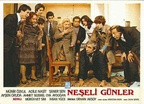 Neşeli Günler İstanbul (Turşucu sahneleri Cihangir)