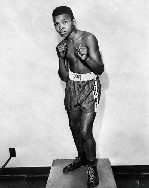 12.  Muhammed Ali 12 yaşında (1954)