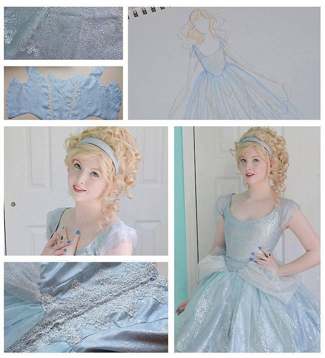 Bunda ise Cinderella'dan ilham almış.