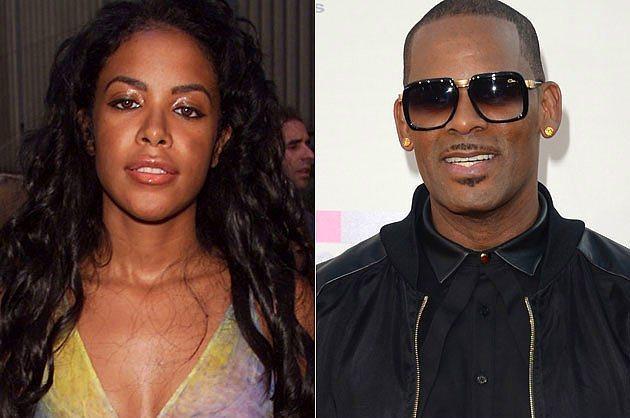 Aaliyah & R Kelly  Bir zamanların hakkında en çok konuşulan konularından biriydi, Aaliyah ve R Kelly'in evliliği. Çünkü iddialara göre Aaliyah bu evliliği yaptığında henüz 15 yaşındaydı.