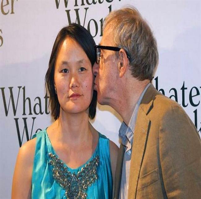 Woody Allen & Soon-Yi Previn  Allen ve Previn çifti uzun sürü manşetlerden düşmemişti. Zira bunun sebebi, Previn'in,  Woody Allen'ın eski eşi olan Mia Farrow'un evlatlığı olmasıydı. Facia ötesi durumla ilgili bir başka bilgi de, o tarihte Allen 56, Previn ise sadece 21 yaşındaydı.