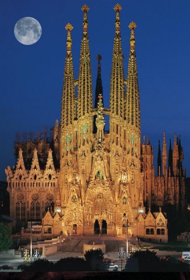 Sagrada Familia – Barselona, İspanya