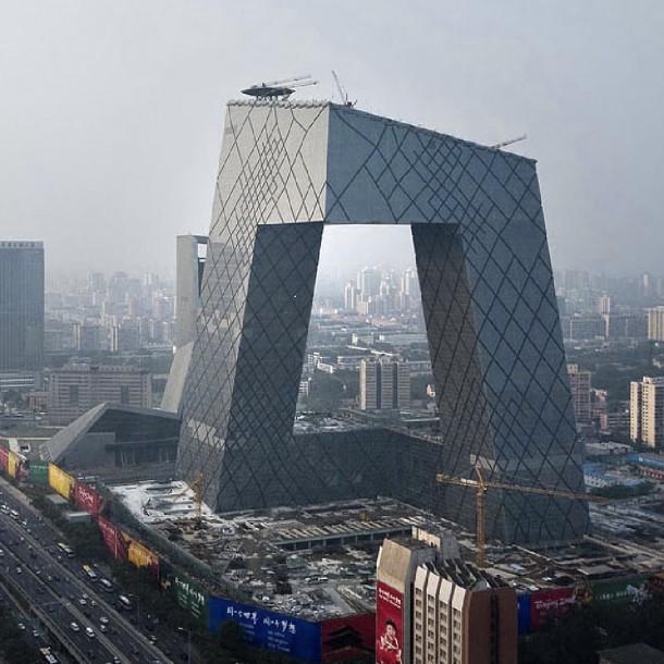 Çin Merkez Televizyonu Ana Binası – Beijing, Çin