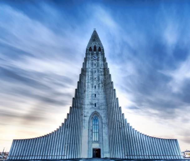 Hallgrimur Kilisesi – Reykjavik, İzlanda