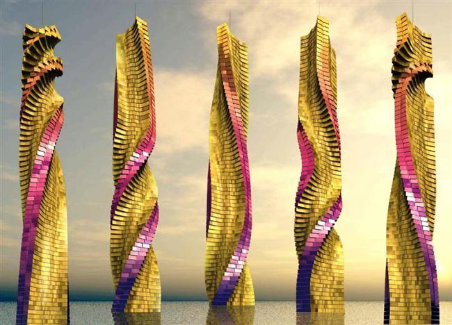 Dönen Kuleler – Dubai