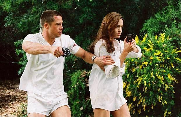 Mr. & Mrs. Smith - Angelina Jolie & Brad Pitt