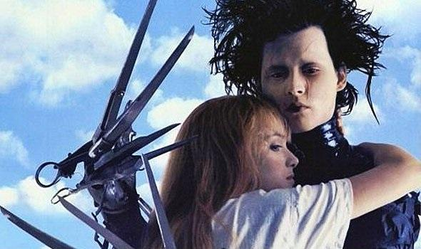 Edward Scissorhands - Johnny Depp & Winona Ryder