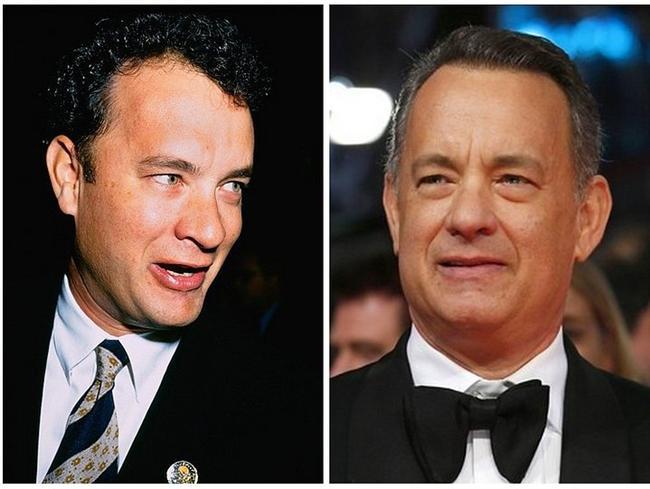 Tom Hanks, 1995 vs. 2014.