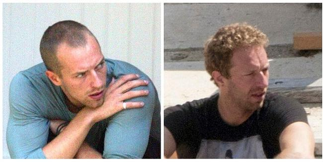 Chris Martin, 2003 vs. 2013.