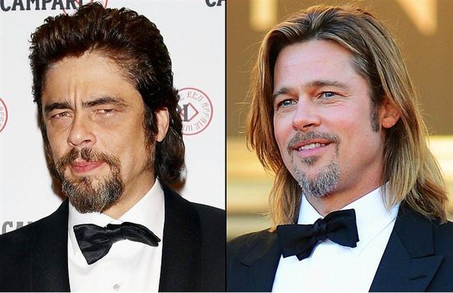 Benicio Del Toro & Brad Pitt  Hemen itiraz etmeden önce, lütfen Brad Pitt'in bir 15 yaş daha yaşlandığını gözünüzde canladırmaya çalışın. Bakalım o zaman ne diyeceksiniz?