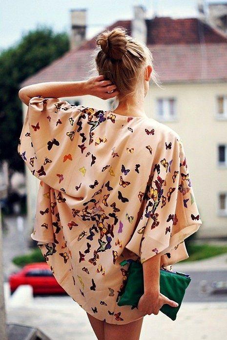 Gündüzün sıcağından, gecenin hafif serinliğinden sizi koruyacak yegane silahınız: Kimono.