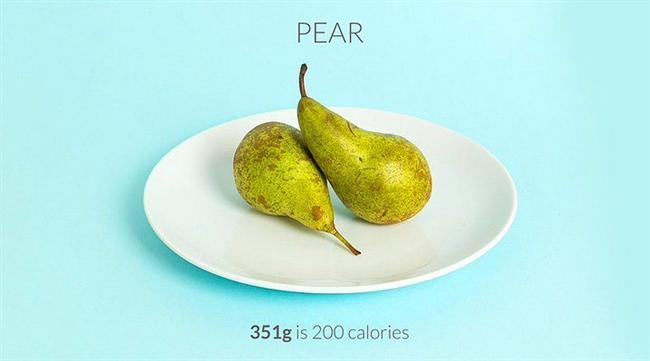 351 gr armut = 200 kalori  Armut hem şekeri az hem lif bakımından zengin üstüne üstlük doyurucu olan meyvelerimizden. Armudu dilimleyip üzerine biraz zencefil ve potakal suyu dökerek enfes bir atıştırmalık haline getirebilirsiniz.