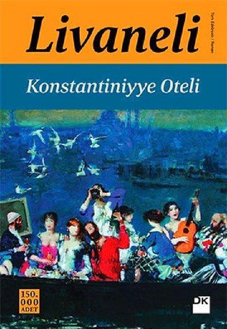 """""""Konstantiniyye Oteli"""", Zülfü Livaneli  Zülfü Livaneli'den İstanbul'un derinlikleriyle, insanların hikayelerini kesiştiren bir roman. Yedi yıldızlı Konstantiniyye Oteli'nin açılış günü ve erken bir yılbaşı kutlaması...Bu kutlamaya bütün cemiyet hayatı, iş dünyası, politikacılar vs. katılıyorlar. Bunun yanı sıra beklenmedik biçimde yer altında ölüler de bu kutlamada arz-ı endam ediyorlar. Otel bir anda binlerce yıllık bir serüvenin kesiştiren bir mekâna dönüşüyor..."""