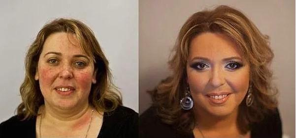 Öncesi & Sonrası 31 Makyaj Fotoğrafı - 30