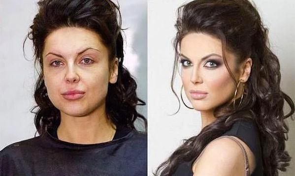 Öncesi & Sonrası 31 Makyaj Fotoğrafı - 11