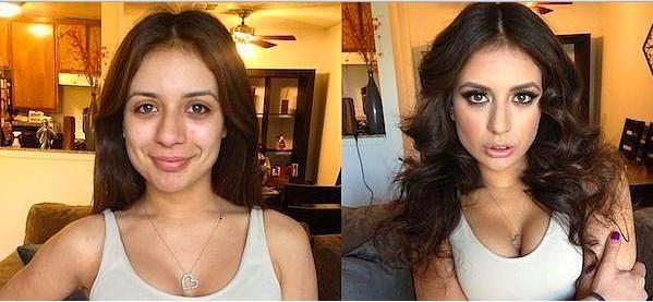 Öncesi & Sonrası 31 Makyaj Fotoğrafı - 6