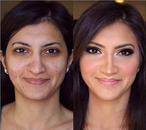 Öncesi & Sonrası 31 Makyaj Fotoğrafı - 5