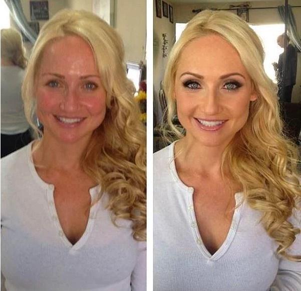 Öncesi & Sonrası 31 Makyaj Fotoğrafı - 22