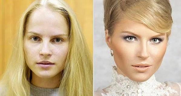 Öncesi & Sonrası 31 Makyaj Fotoğrafı - 29