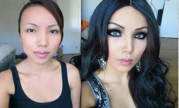 Öncesi & Sonrası 31 Makyaj Fotoğrafı - 25