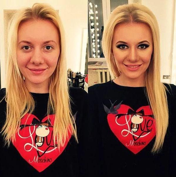 Öncesi & Sonrası 31 Makyaj Fotoğrafı - 3