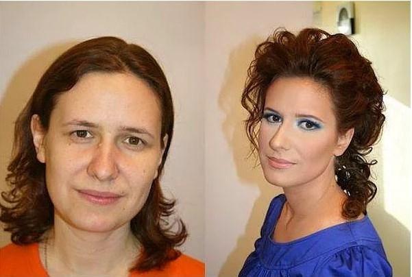 Öncesi & Sonrası 31 Makyaj Fotoğrafı - 17
