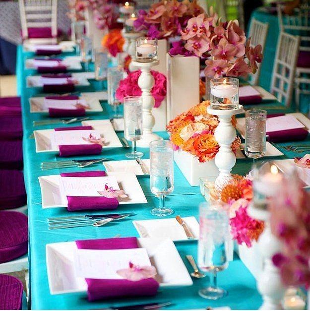 Yaz Düğünlerini Renklendirmek İçin 12 Fikir - 6