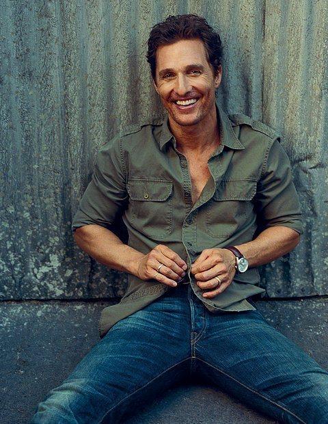 Matthew McConaughey (45 yaşında)