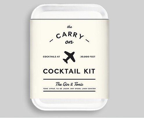 Taşınabilir kokteyl kiti.  Bu kit ile uçakta bile içkinizi kendi zevkinize göre yudumlayabilirsiniz!