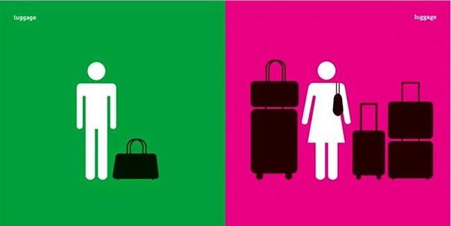 Erkek ve Bavul & Kadın ve Bavul