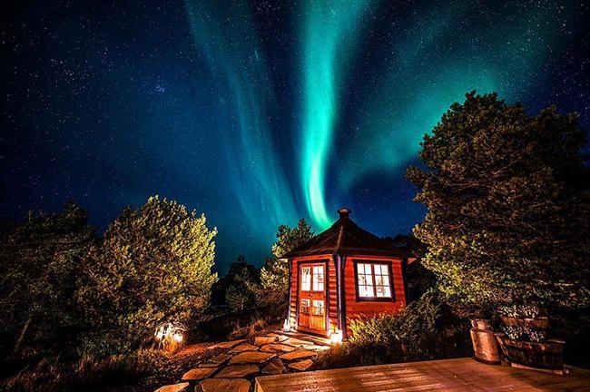 Aurora Borealis yani kuzey/kutup ışıkları