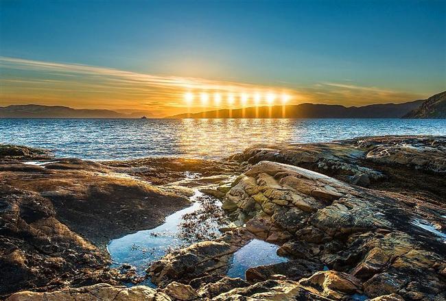 Alta'da ikindi güneşi