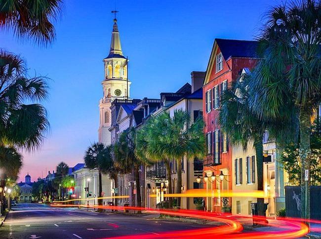 2- Charleston, Güney Karolina - ABD