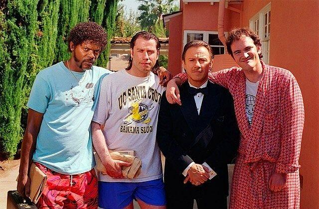 Pulp Fiction setinden bir kare