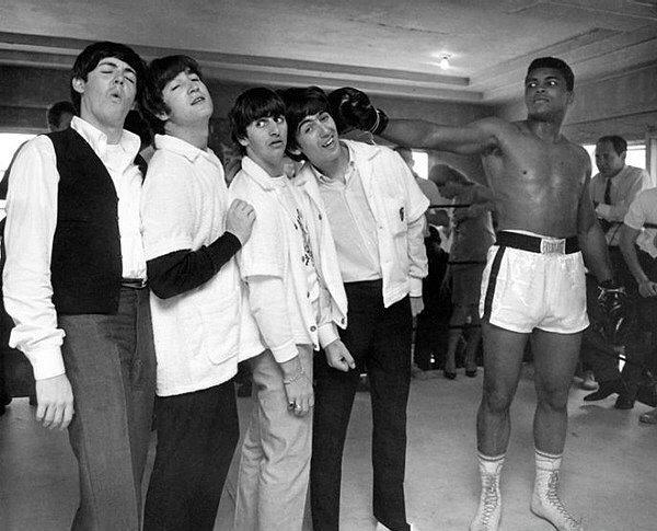 The Beatles ve Muhammad Ali