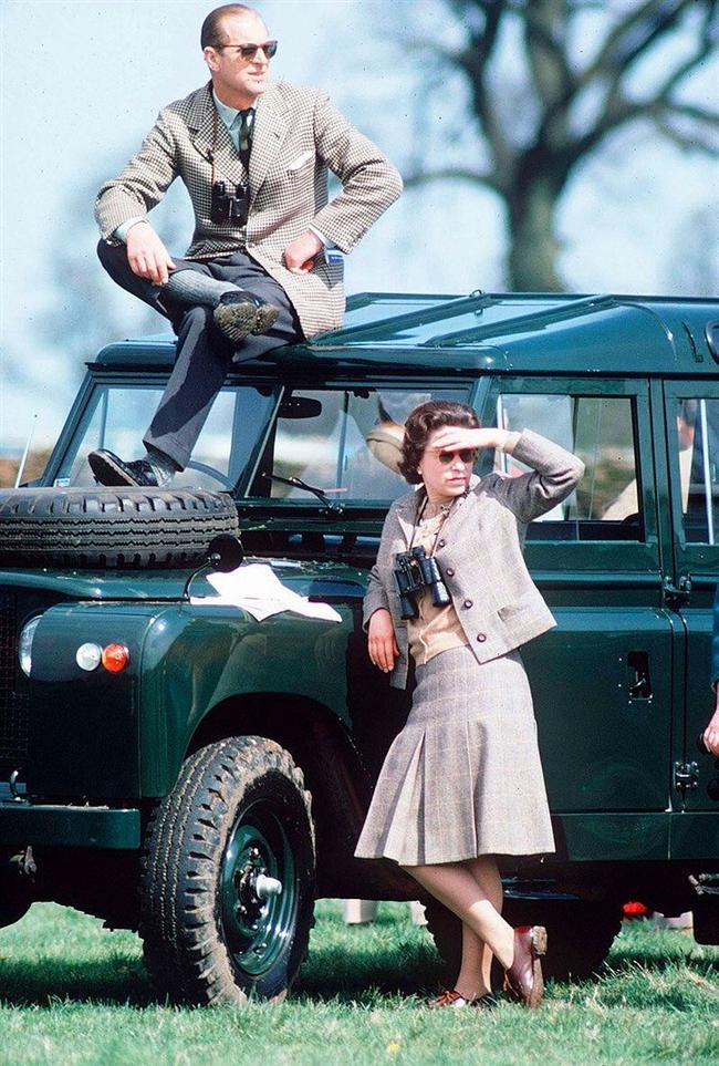 Kraliçe ve Prens Phillip