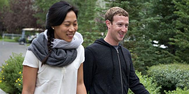 Mark Zuckerberg ve Priscilla Chan - 38 milyar dolar  Facebook'un kurucusu 31 yaşındaki Zuckerberg ve 30 yaşındaki eşi Chan, listenin en genç çifti. Harvard'da tanıştıktan sonra 2012 yılında evlenen çift, sosyal adaletsizlik gibi konularda da çalışıyorlar.