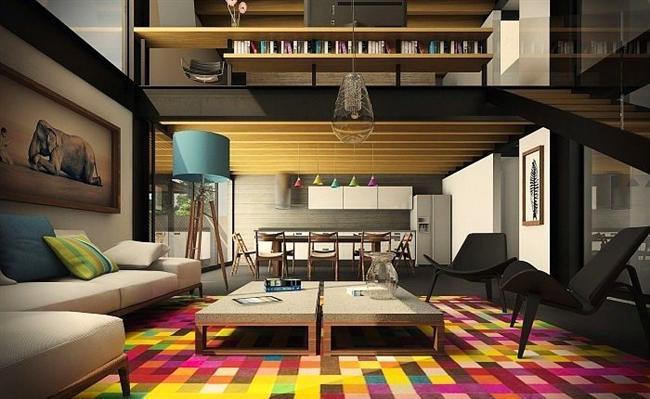 Canlı renkler ile salonlarınızın cazibesini herkes görsün.
