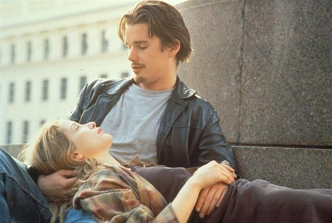 2. Before Sunrise (1995), Before Sunset (2004), Before Midnight (2013)  Fransız yüksek lisans öğrencisi Celine (Julie Delpy) ile Amerikalı Jesse (Ethan Hawke), Budapeşte - Viyana treninde bir çiftin kavgası ile tesadüfen tanışırlar. Jesse, Celine'e, ertesi gün uçağa bineceğini ancak parası olmadığından sabaha kadar Viyana caddelerinde dolaşacağını söyler ve Celine'in kendisine eşlik etmesini ister. Viyana'da trenden inerler ve 14 saat boyunca hayatlarını derinden etkileyecek bir beraberliğe adım atarlar